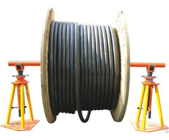 High Quality Hydraulic Cable Drum Jack Stand