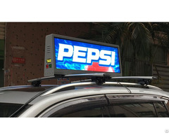 P3mm Taxi Top Led Display