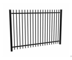 Aluminum Picket Fence Panels For Residential Decoration