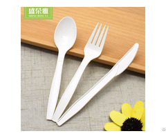 Corn Starch Cutlery Set