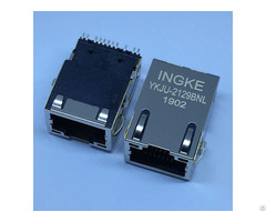 Ingke Ykju 2129bnl We 7498011122ar 1 Port 100 Base T Smt Tab Up Magnetic Rj45 Connectors