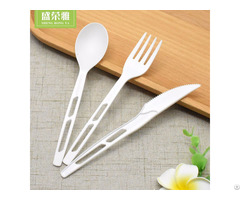 """7"""" Disposable Cpla Cutlery Set"""