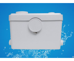 Sanitary Macerator Pump 3 Inlets For Wc Shower Sink Bath Waste Discharge