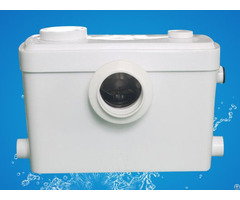 Sanitary 600w Macerator Waste Pump 3 Inlets For Wc Toilet Sink Basin