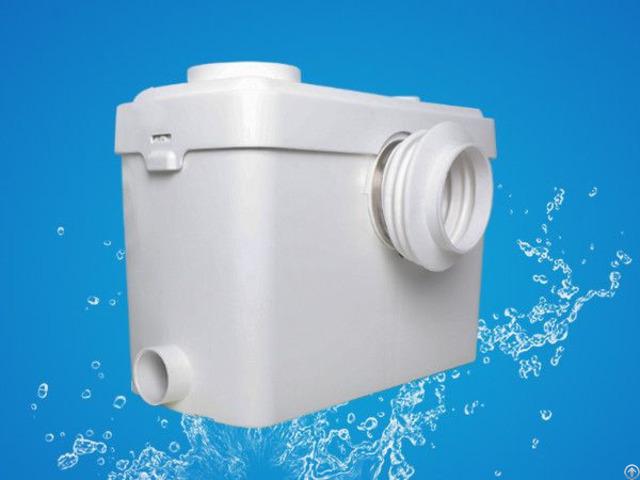 Macerator Sewage Pump Automatic Flush For Toilet Sink Shower Bathroom