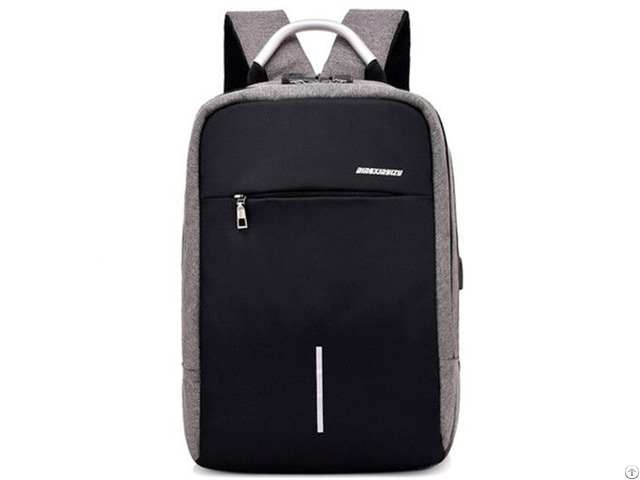 Laptop Unisex Usb Port Water Resistant Business Anti Theft Bag Computer Notebook Backpack
