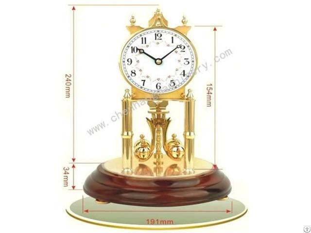 Torsional Pendulum Year Clock Movement