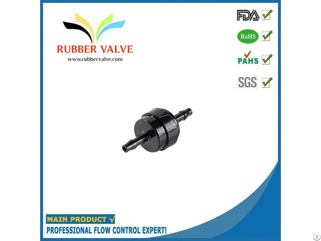 Plastic Water Spring Check Valve For Cleaning Machine