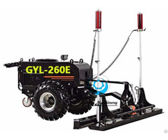 Ride On Laser Concrete Screed