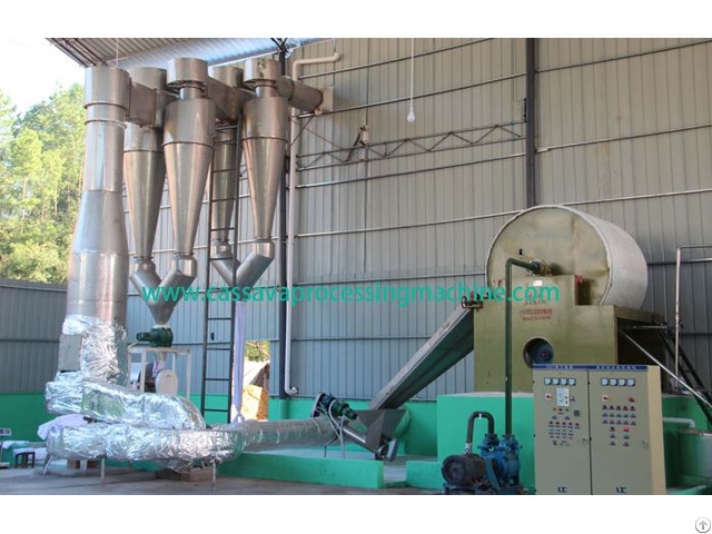 High Handling Cassava Starch Processing Line