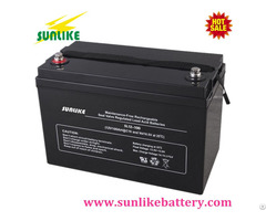 Sunlike Ups Agm Sealed Lead Acid Battery 100ah 12v