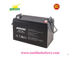 Sunlike 12v100ah Gel Accumulator Deep Cycle Power Battery For Solar