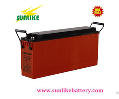 Sunlike Front Access Terminal 12v100ah Sla Deep Cycle Battery For Telecom