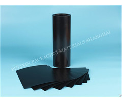 Hips And Pp Black Embedded Plastic Film With Resistance Value 10e3 10e11ohms Sheet Roll