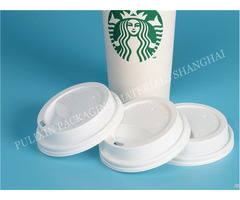 Polypropylene Matte White Color Food Grade Packaging Material For Cover Of Starbucks Coffee