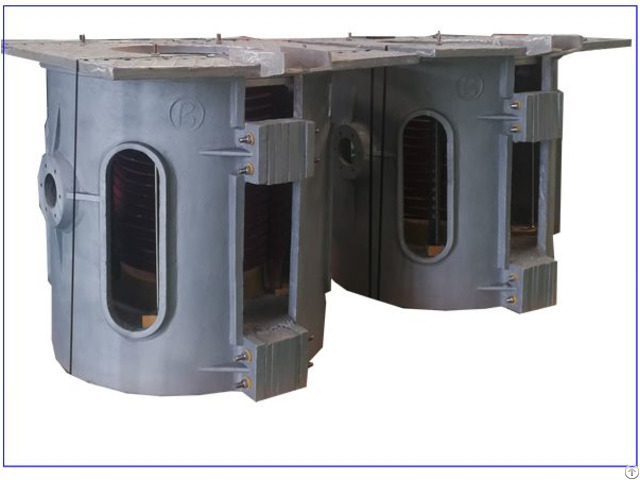 One Point Five Tons Aluminum Shell Hydraulic Melting Furnace