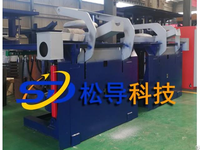 2tmedium Frequency Induction Steel Melting Furnace