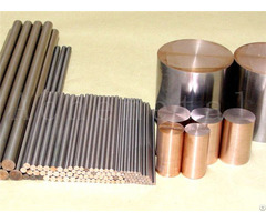 High Temperature Arc Erosion Resistance Electric Conduction Tungsten Copper