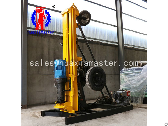 Kqz 200d Pneumatic Water Well Drilling Rig