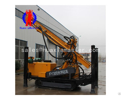 Fy300 Crawler Pneumatic Water Well Drilling Rig