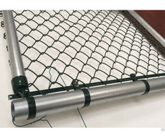 Aluminized Chain Link Fencing System