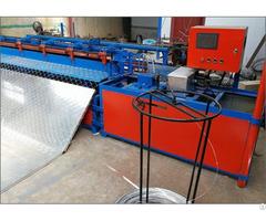 Semi Automatic Chain Link Fence Mesh Machine