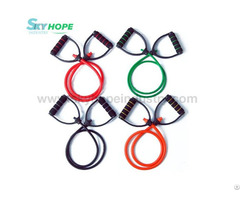 Resistance Band Exercise Tubes With Handle