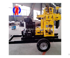 Xyx 200 Wheeled Hydraulic Core Drilling Rig