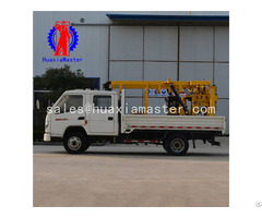 Xyc 200 Vehicle Mounted Hydraulic Core Drilling Rig