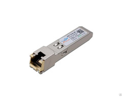 Sfp 10 100 1000base T Copper Rj45 Transceiver