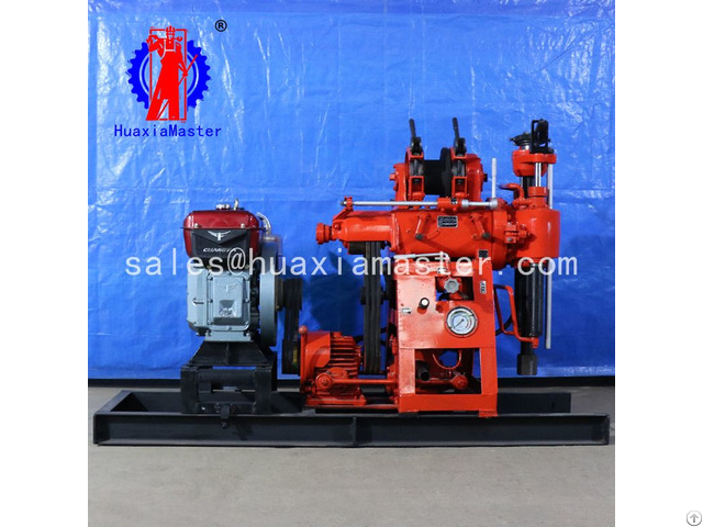 Xy 100 Hydraulic Core Drilling Rig Machine