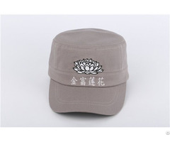 Custom High Quality 100% Cotton Military Cap Army Caps
