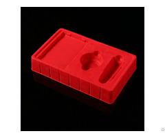 Custom Luxury Cosmetics Plastic Flocking Blister Packaging Inner Tray
