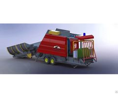 Silage Baler And Wrapper