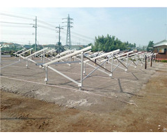 Solar Ground Mounting Structure 100kw Systems
