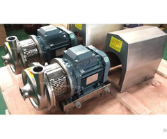 Scp Series Stainless Steel Sanitary Centrifugal Pumps