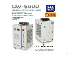 S And A Water Chiller For Cooling Plasma Torch In Welding Machine