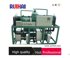 Ultra Low Temperature Screw Type Cascade Refigeration Chiller