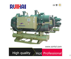 Ce Certificated 216kw Industrial Water Cooled Screw Chiller