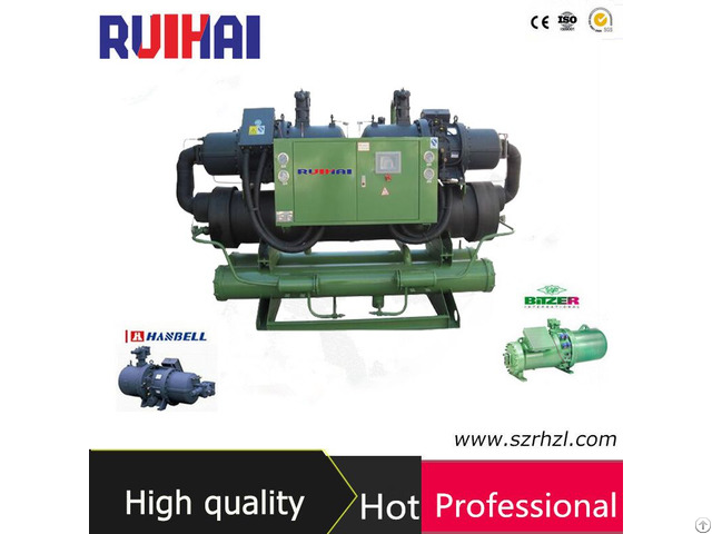 High Efficient Flooded Type Screw Water Cooled Chillers