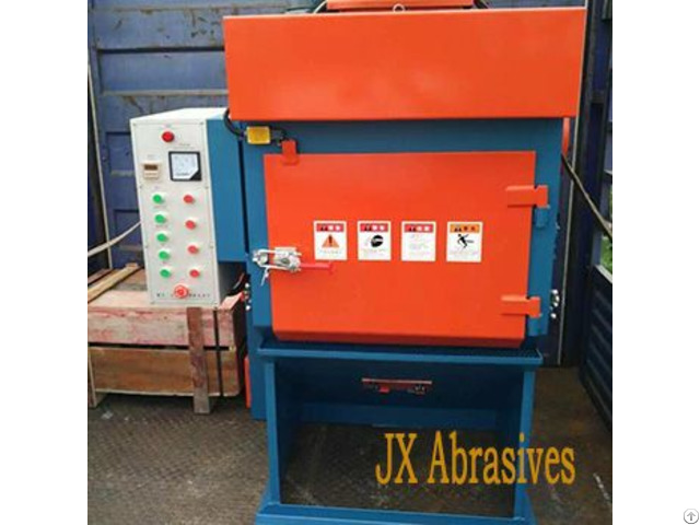 Rubber Tumblast Machine
