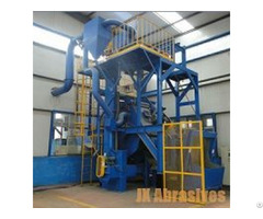 Rubber And Steel Belt Tumblast Machine
