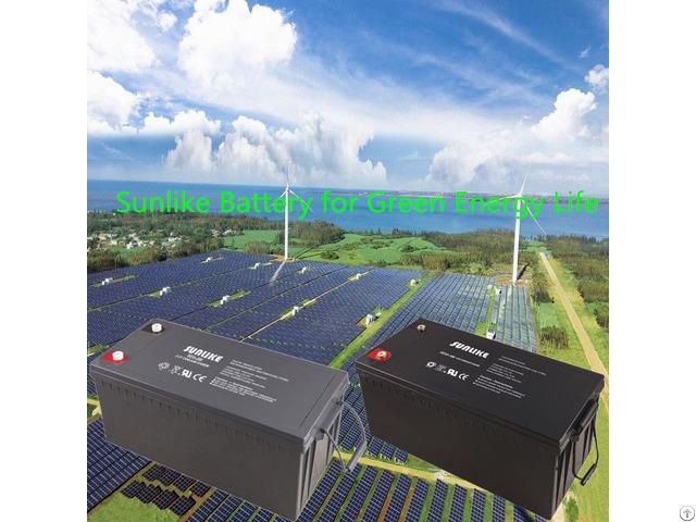 12v200ah Solar Gel Deep Cycle Battery