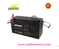 Solar Gel Battery 12v150ah For Communication