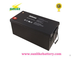 Deep Cycle Solar Power Gel Battery 12v180ah