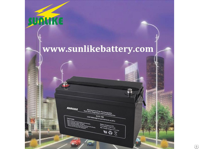 Solar 12v180ah Deep Cycle Agm Battery For Ups Backup System