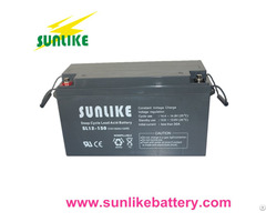 Solar Power Lead Acid Battery 12v150ah Free Maintenance 12years Life