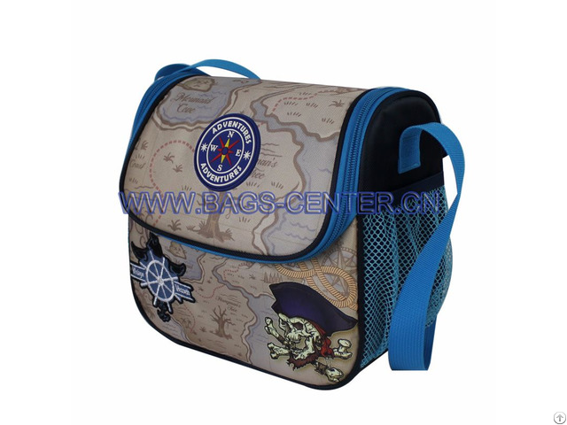 Jacquard Lunch Bags For School Boys