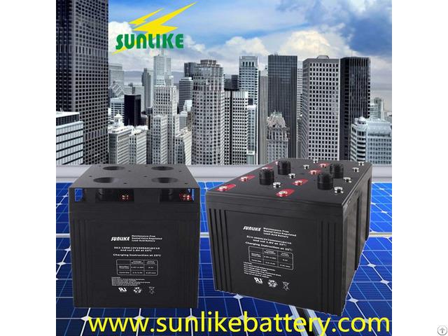 2v3500ah Deep Cycle Valve Regulated Lead Acid Battery For Solar