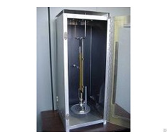Vertical Flammability Chamber For Measuring The Flame Spread